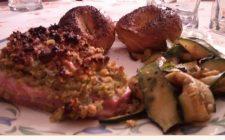 Ricetta di pesce: filetto di tonno in crosta di pistacchi