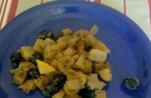 Ricette vegane: spezzatino di seitan con patate e olive nere