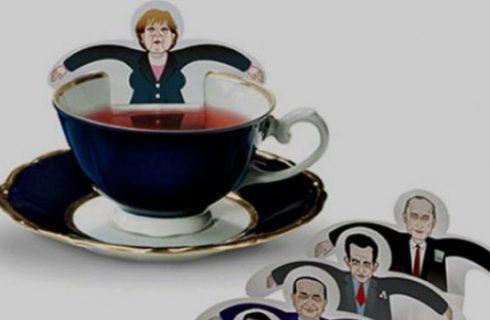 Un tè con i politici?