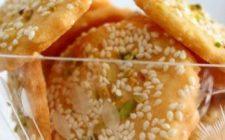Ricetta dolce, i biscotti con granella di frutta secca