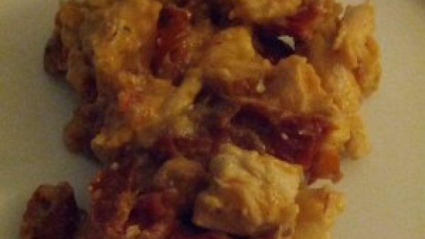 Ricetta secondi: bocconcini di tacchino con mandorle e pomodori secchi