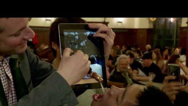 Una birra dall'iPad, chi ne vuole un sorso?