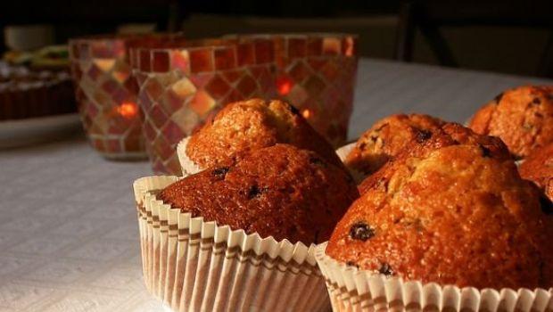 I muffin all'uvetta e crusca di Martha Stewart