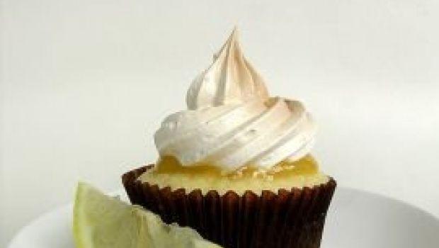 I cupcake meringati al limone di Martha Stewart