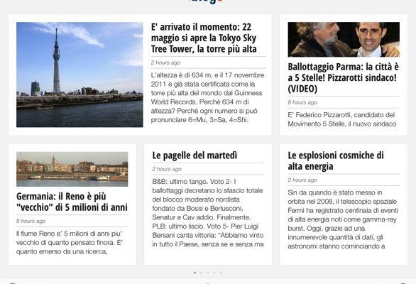 Blogo.it disponibile su Google Currents!
