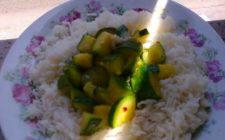 Primi piatti: Basmati e zucchine speziate