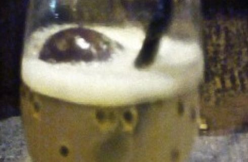 Cocktail Vodka Sour Maracuja