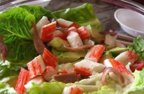 Ricette estate: la mia insalatona con il surimi