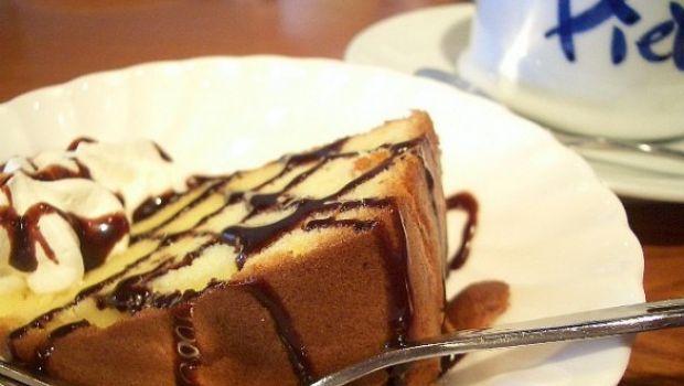 La torta paradiso di Salvatore de Riso