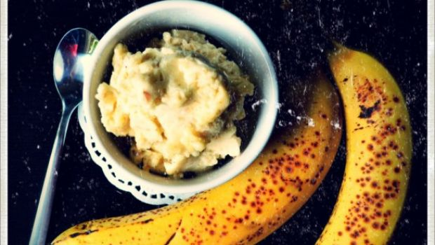 Il gelato alla banana … senza banana!