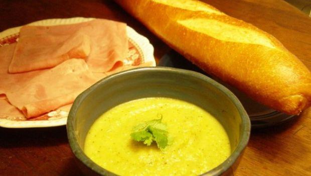 Crema di zucchine, ricetta facile e veloce