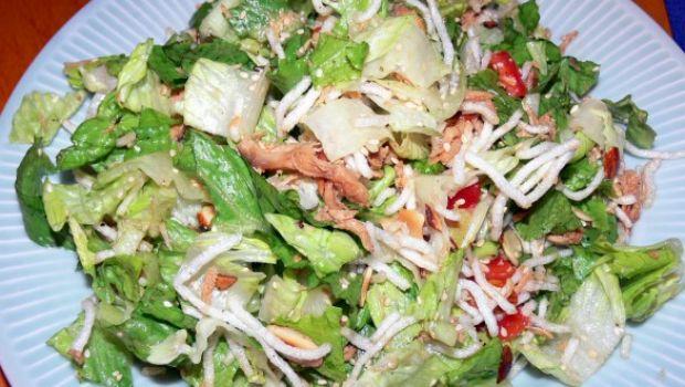 La ricetta dell'insalata di pollo stile Impero