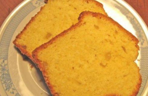 Plumcake con farina di riso e agrumi, una ricetta per celiaci