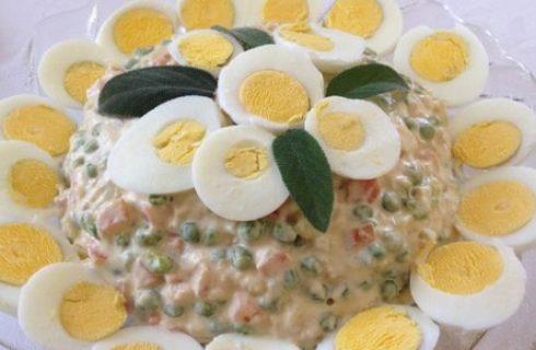 L'insalata russa da fare velocemente in casa, ecco la ricetta