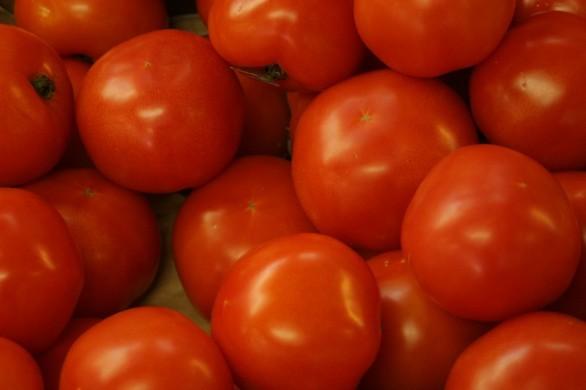 I pomodori al forno,  la ricetta con tonno e olive
