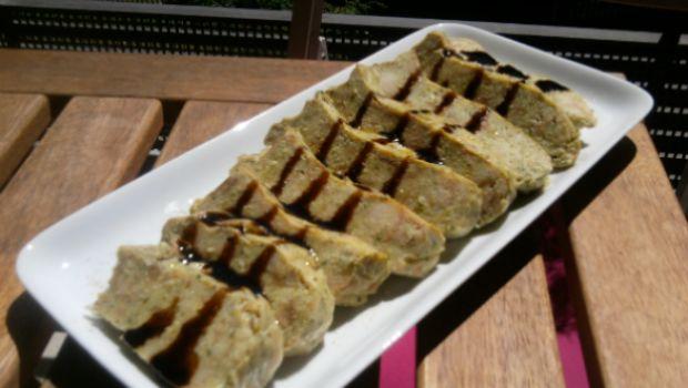 La ricetta leggera del polpettone di zucchine