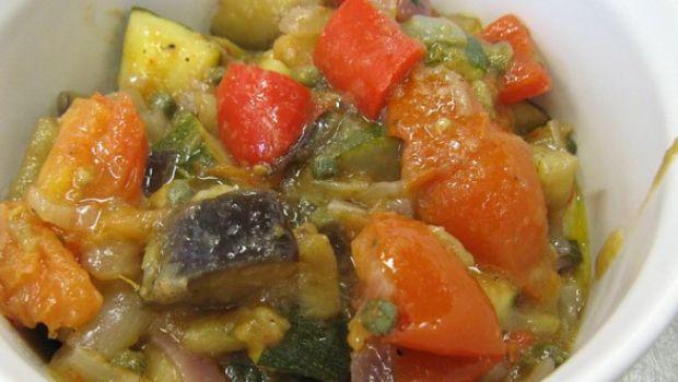 Come fare la caponata di verdure alla siciliana con il Bimby
