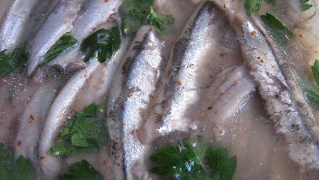 La ricetta delle alici marinate nella versione napoletana
