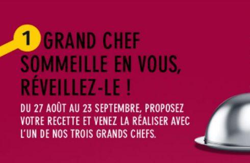 In cucina con lo chef, nella metro di Parigi
