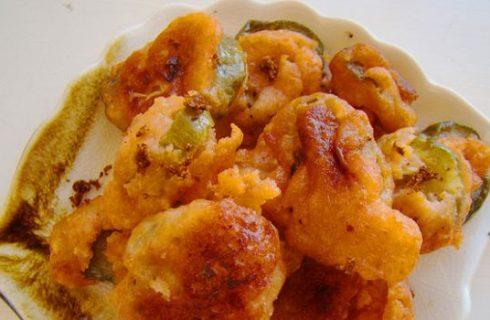 I Jalapeno peperoncini fritti da gustare con la ricetta della cucina messicana
