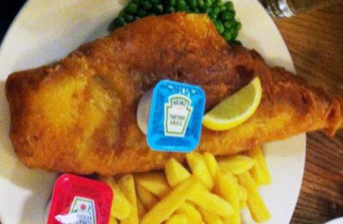 Dove mangiare il vero fish&chips a Londra: il pub Nag's Head a Covent Garden