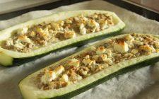 Le zucchine ripiene di verdure per un gustoso secondo vegetariano