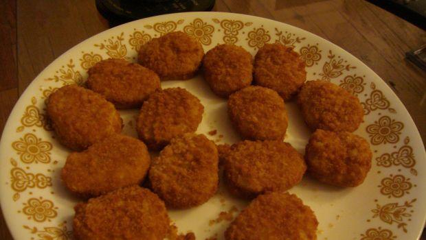 Le pepite di pollo croccanti da fare al forno