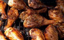 Fuselli di pollo impastellati con le spezie