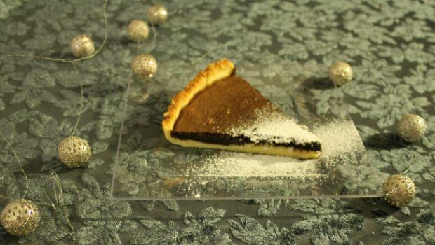 La crostata di Natale al cioccolato e spezie