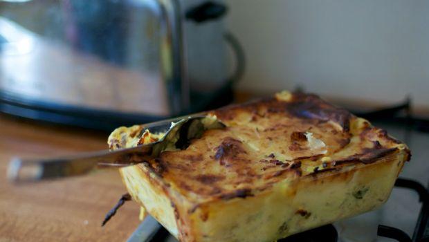 Il pasticcio di pesce e patate con la ricetta semplice