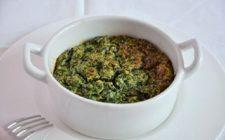 Lo sformato di spinaci con ricotta e mozzarella filante