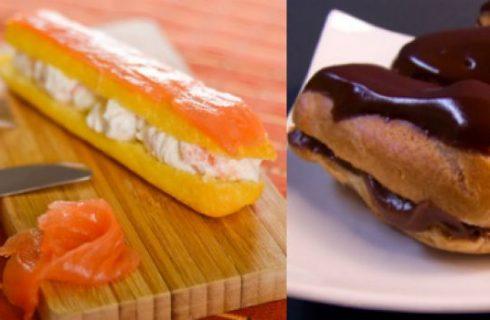 Eclairs dolci e salati, due ricette per stupire gli ospiti tra Natale e la fine dell'anno