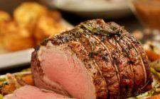 La ricetta del roast beef all'inglese in crosta di sale