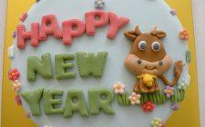 Le decorazioni per le torte per Capodanno