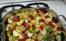 Le verdure al forno light con la ricetta veloce