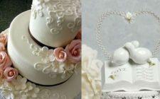 La torta nuziale, la ricetta fai da te e le foto delle decorazioni più belle