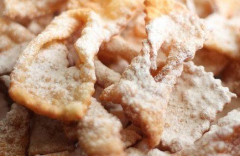 Come fare le frappe di Carnevale con la ricetta originale fritte e al forno