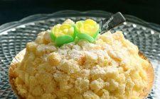 La torta mimosa con la ricetta all'ananas e cioccolato bianco