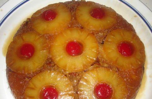 La ricetta della torta di ananas capovolta