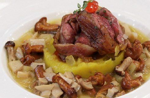 Ricette di MasterChef Italia 2 nona puntata: piatti di piccione, crema di fagioli e il rollè di branzino di Barbieri