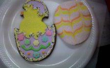 Biscotti pasquali decorati per bambini