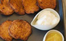 La ricetta delle frittelle salate con acqua e farina