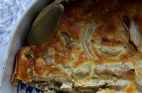 La torta Pasqualina con i carciofi con la ricetta genovese
