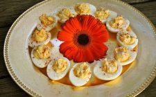 Gli antipasti con le uova per festeggiare la Pasqua