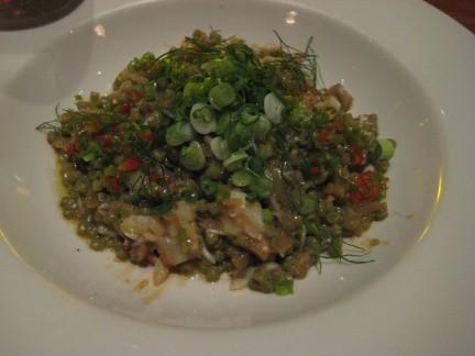La ricetta della fregola con salsiccia