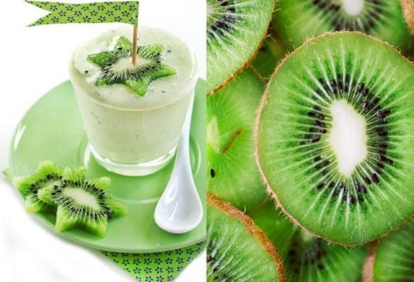 Frullato di kiwi, la ricetta facile e gustosa