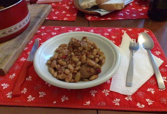 La ricetta delle luganeghe e fagioli della tradizione trevigiana