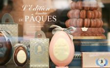 Pasquetta a Parigi tra sculture di cioccolato, preziose materie prime e uova design