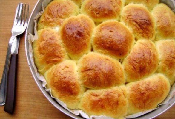 Danubio salato con prosciutto e mozzarella, la foto ricetta passo per passo