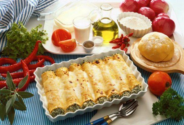 I cannelloni con le verdure, ecco la ricetta facile